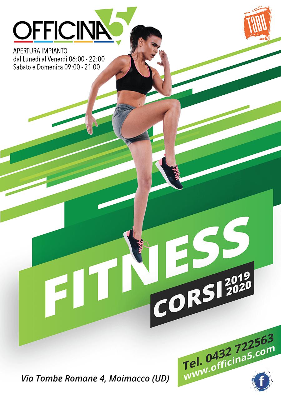 Nuovi corsi Fitness di OFFICINA5 a Moimacco