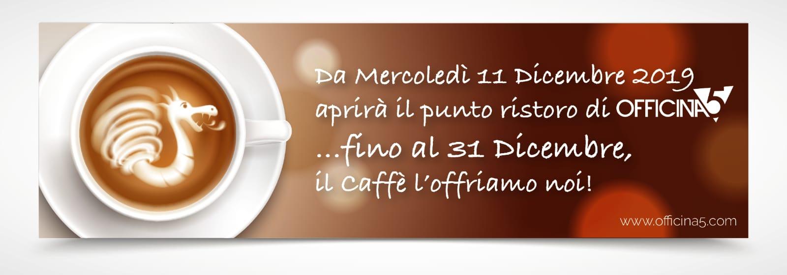 Nuova apertura BAR caffè gratis
