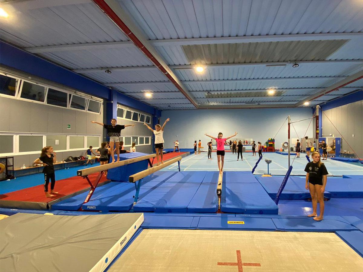 Corsi ginnastica artistica e ritmica di Ta.Bu. da Officina5 palestra a Moimacco
