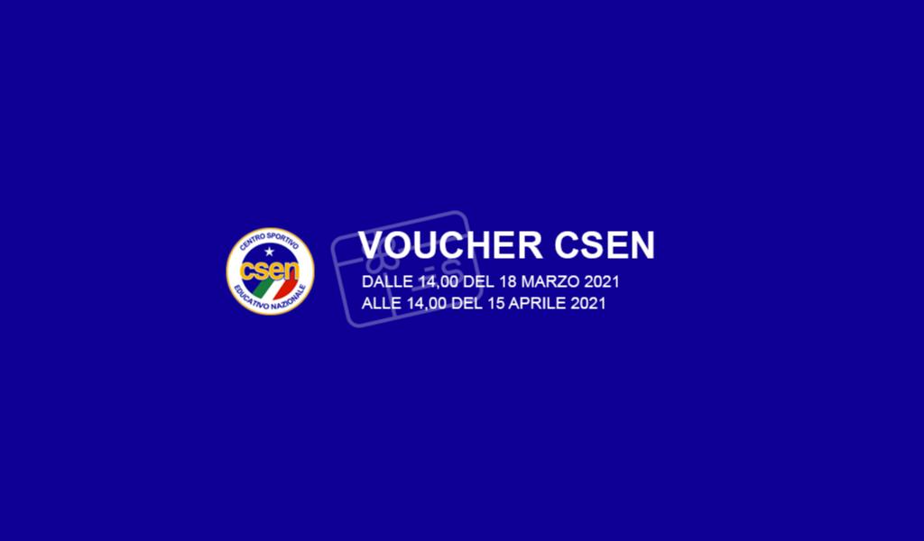 Voucher CSEN 2021