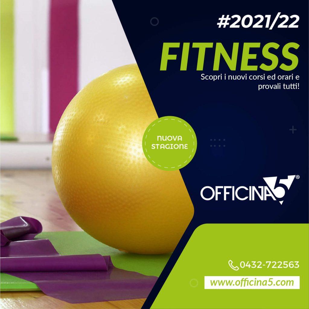 Prova gratuita dei corsi fitness della palestra a Remanzacco da Officina5