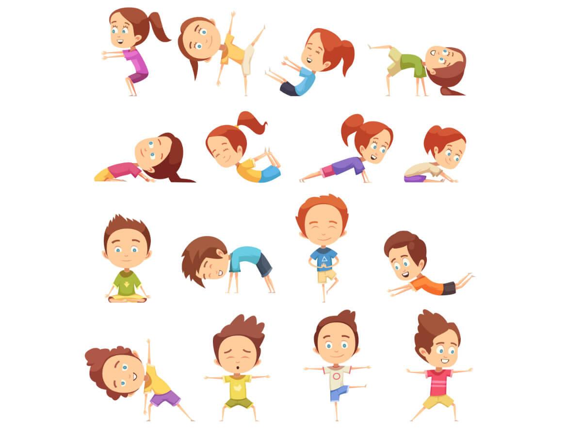 Corso di yoga per bambini a Cividale da OFFICINA5